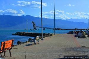 Auf der Suche nach einem Platz - Agia Marina – Greece
