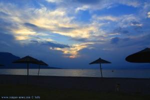 Nicol beim allabendlichen Spaziergang - Akti – Greece