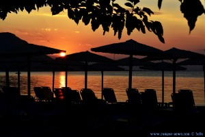 Sunset in Akti – Greece