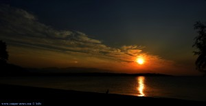Sunset at Kavos Beach – Greece