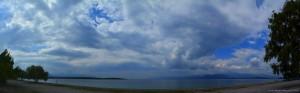 Dicke fette Wolken am Kavos Beach – Greece