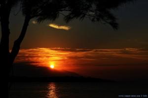 Sunset at Kavos Beach – Greece