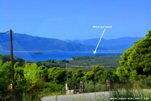Kavos Beach und Insel Monolia – Greece