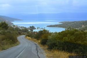 Anfahrt zu Mpoufalo - Laut Lotta Boufalo – Greece