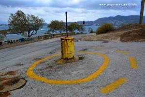 Kreisverkehr am Prásiai in Porto Rafti – Greece