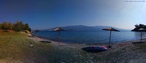 Mein Strandplatz am Amarilidos Beach – Greece