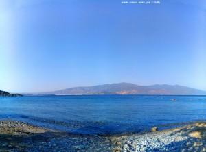 View to Vólos - Amarilidos Beach – Greece