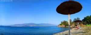 Meine Aussicht am Amarilidos Beach – Greece