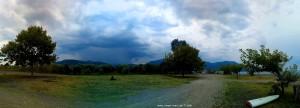 Gewitterstimmung in Akti – Greece