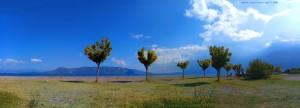 Sonne oder Wolken? Akti - Greece