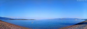 My View today - Kavos Beach to the Island Monolia – Greece