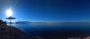 My View today - Mouse Beach - Akti Nireos – Greece