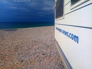 Dunkel am Mouse Beach - Akti Nireos - Greece