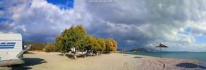 Da kommt sicher gleich regen am Mouse Beach - Akti Nireos – Greece