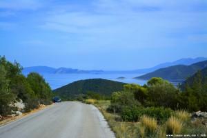 Anfahrt zu Korfos – Greece