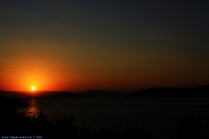 Sunset at Salanti Beach – Greece