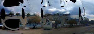 Parking at Metamorfosi Beach - Unnamed Road - Metamorfosi - Trizinia - Greece - Ocotober 2018