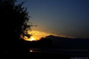 Sunset at Metamorfosi Beach – Greece