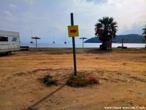 Kreisverkehr am Vagionia Beach Palaia Epidavros – Greece