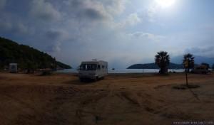 Lunch am Vagionia Beach Palaia Epidavros - Greece