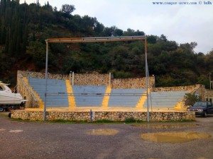 Kleines Freiluft-Theater am Tiros Beach - Paralia – Greece