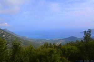 Aussicht von unterwegs - ca. 600m – Greece