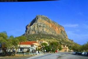 Halbinsel bei Monemvasia – Greece
