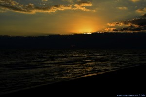 Sunset at Vivari Beach – Greece