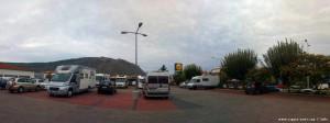 Kuschelcamping am Lidl in Nafplio – Greece