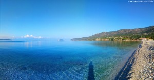 My View today - Salanti Beach – Greece