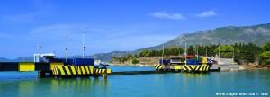 Versenkbare Brücke am Kanal von Korinth – Greece