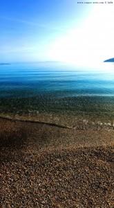 Kristallklares Wasser am Kamares Beach – Greece