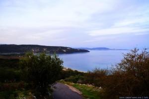 Parking at Kamares Beach - Unnamed Road - Kamares - Anatoliki Mani 232 00 - Greece - October 2018