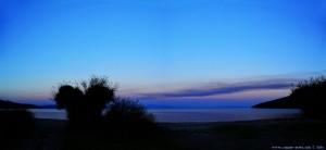 Abendrot am Kamares Beach - Greece