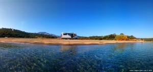 Parking at Kamares Beach - Unnamed Road - Kamares - Anatoliki Mani 232 00 - Greece - November 2018