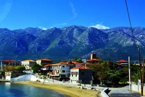 Hier finden wir Wasser - Kotronas - Greece