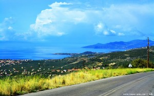 On the Road in Greece