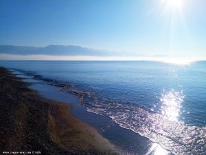 My View today - Avramiou Beach - Avramiou - Kalamata – Greece