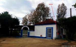 Lunch und Wasser am Estiatório Thomas Restaurant Loutsa - Finikounda – Greece