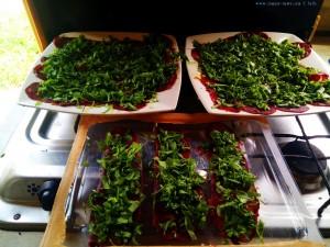 Pastourma - Lunch heute in Finikounda – Greece