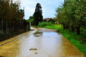 Alle Wege nach Methoni unter Wasser – Greece