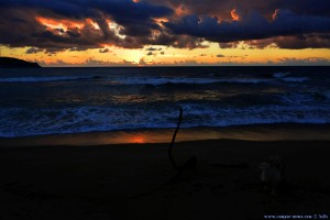 Sunset at Lagkouvardos Beach – Greece