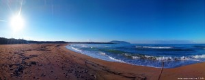 My View today - Lagkouvardos Beach - Vatias – Greece