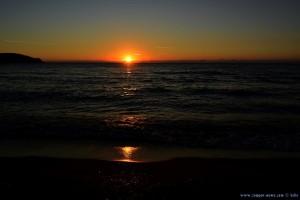 Sunset at Lagkouvardos Beach – Greece
