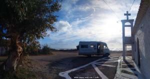 Parking in Epitalio Paralia - Paralia Volakos - Unnamed Road - Paralia – Greece