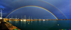 Rainbow at Katakolo Greece