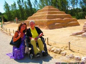 Mama und ich im Minimundus in Meckenbeuren
