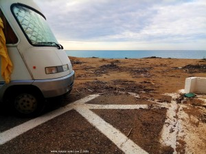 Wild war der letzte Sturm hier - Epitalio Paralia – Greece