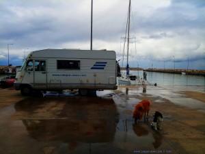 Lunch in Limani Myrtounitou - Agios Panteleimon – Greece
