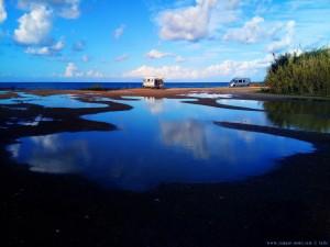 Die Pfützen werden nicht kleiner am Kyllini Beach – Greece